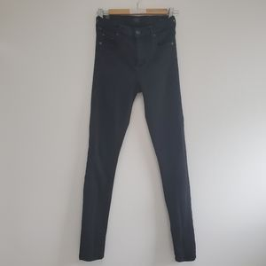 Citizens of Humanity rocket all black jeans